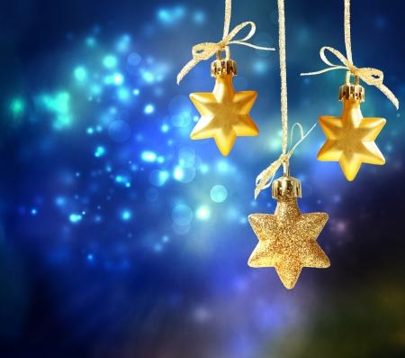 estrellas de navidad: Ornamentos de la estrella de la noche
