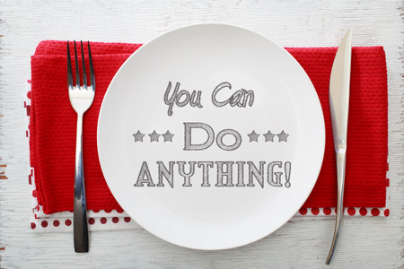 can food: Inspirational meal you can do anything with table settings