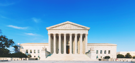 supreme court: The Supreme Court of the United States in Washington DC