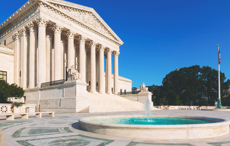 The Supreme Court of the United States in Washington DC