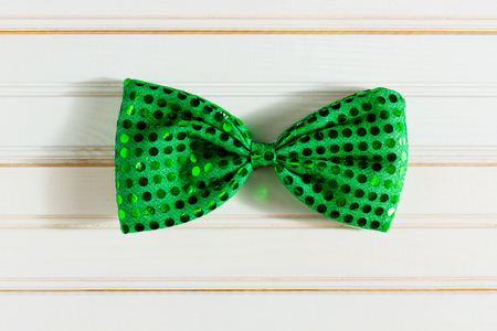 St. Patricks Day concept with Irish bow tie Stok Fotoğraf