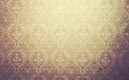 Mediterranean geometric traditional lattice pattern background