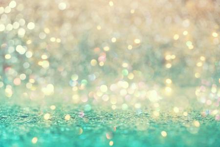 美しい抽象的な光沢のある光と輝く背景