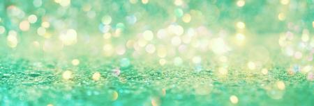 Mooi abstract glanzend licht en glitter achtergrond Stockfoto