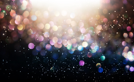 Beautiful abstract shiny light and glitter background Imagens - 95303477