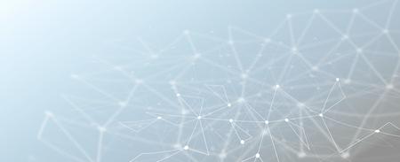 Technologie abstraite géométrique fond de lignes de maillage polygonal