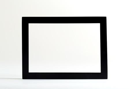 Black boarder frame on a white background Reklamní fotografie