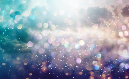 Beautiful abstract shiny light and cludscape background