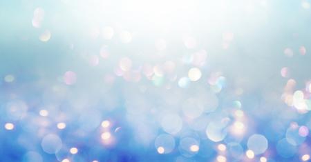 Prachtige abstracte glanzende licht en glitter achtergrond Stockfoto