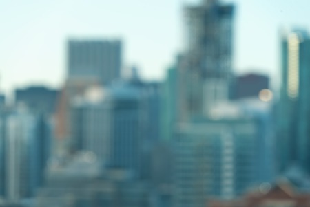 Blurred bokeh Chicago abstract cityscape skyline background Stock Photo - 109922891