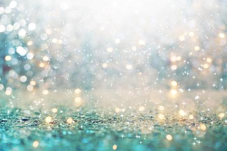 Bella luce splendente astratta e sfondo glitter Archivio Fotografico