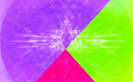 Abstract triangle shapes pattern vibrant color background