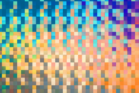 Abstract square blocks shapes gradient pattern background Фото со стока - 115151279