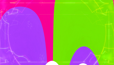 Abstract rounded shapes pattern vibrant color background 版權商用圖片