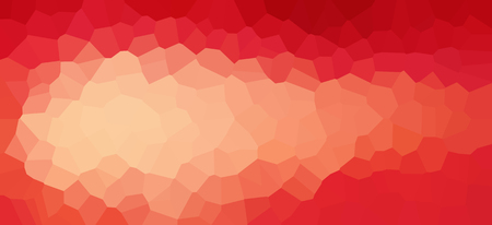 Abstract crystallized polygon shapes gradient pattern background