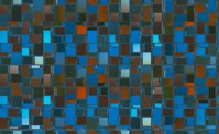 Abstract background illustration with distorted repeated boxes pattern Stok Fotoğraf - 116208242