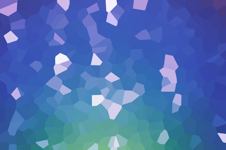 Abstract low poly mosaic shapes background illustration Archivio Fotografico - 116208243