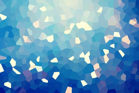 Abstract low poly mosaic shapes background illustration Stock fotó - 116438573
