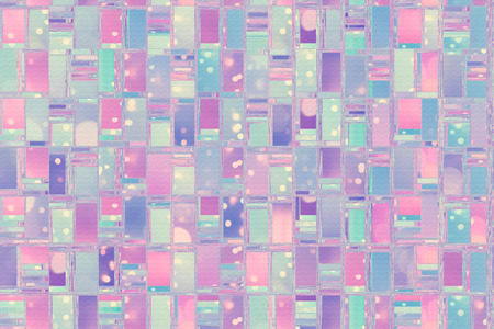 Abstract background illustration with distorted repeated boxes pattern
