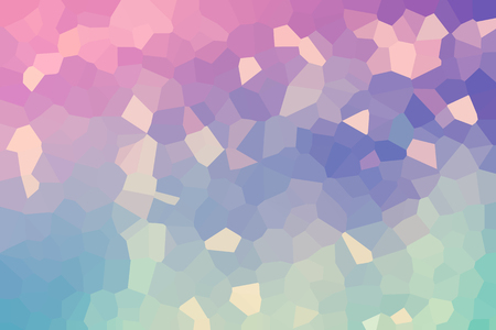 Abstract low poly mosaic shapes background illustration Banco de Imagens - 118385812