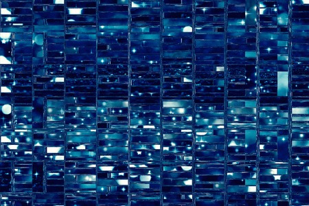 Abstract background illustration with distorted repeated boxes pattern Banque d'images - 116652347