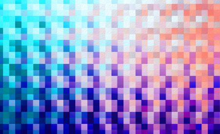 Abstract square blocks shapes gradient pattern background Standard-Bild - 116652512