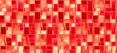 Abstract background illustration with distorted repeated boxes pattern Banco de Imagens - 116652519