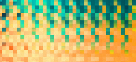 Abstract square blocks shapes gradient pattern background Standard-Bild - 116691596