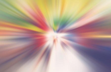 Abstract radial zoom motion design gradient blur Standard-Bild - 116691637