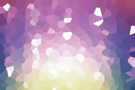 Abstract low poly mosaic shapes background illustration Standard-Bild - 116691650