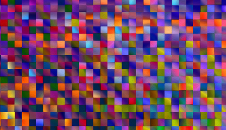Abstract square blocks shapes gradient pattern background 免版税图像
