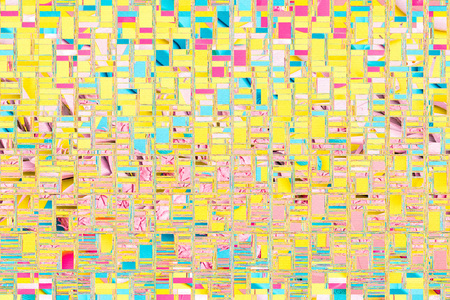 Abstract background collage distorted mosaic glitch design
