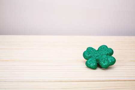 St. Patricks Day theme with shamrock decoration