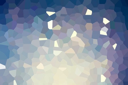 Abstract low poly mosaic shapes background illustration Banco de Imagens - 116956857