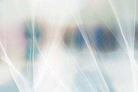 Concept de technologie de réseau flou fond dégradé abstrait