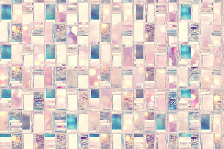 Abstract background illustration with distorted repeated boxes pattern Фото со стока - 117360594