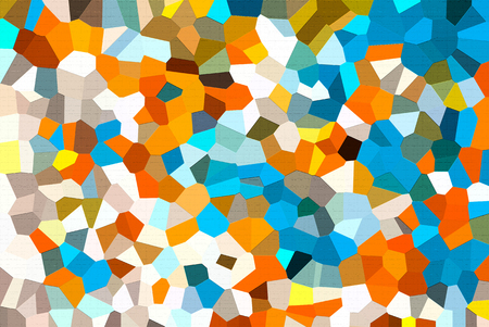Abstract low poly mosaic shapes background illustration Stock fotó - 117451800