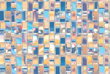 Abstract background illustration with distorted repeated boxes pattern Stock fotó - 117497958