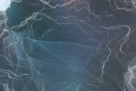 Network technology concept blurred abstract gradient background