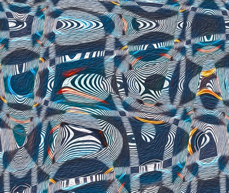 Absract swirled pattern painting wave design background