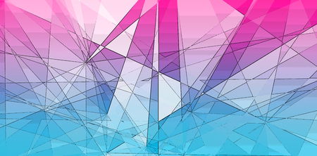 Abstract intersecting triangle shape lines geometric background