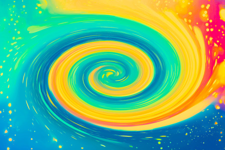 Abstract magical swirl design pattern background illustration Stock Photo