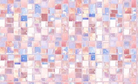 Abstract background illustration with distorted repeated boxes pattern Stock fotó - 129096672