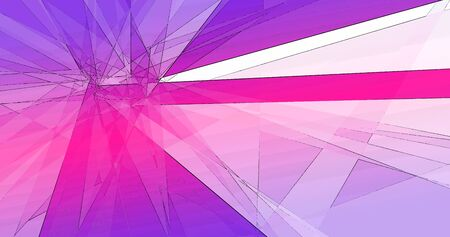 Abstract intersecting triangle shape lines geometric background Banque d'images - 131215768