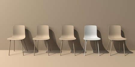 One out unique chair concept