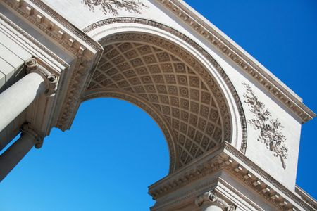 Arch in Blue Sky