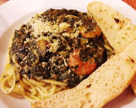 malungay: Malungay moringa pesto pasta