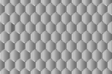 Background gray metal gradient, honeycomb, hexagon, abstraction, Honeycomb random Grid background or Hexagonal cell texture in color black or dark with gradient color.