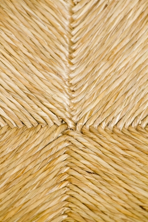 technic: Texture of a traditional handcrafted technic of chair construction made with rattan palm plant by the Portuguese.