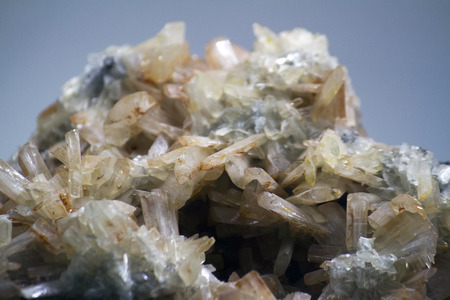 sulfate: Close up view of a Baryte mineral.